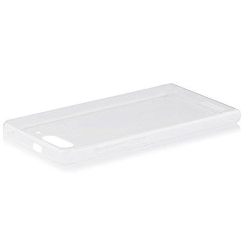 HuaweiAscend G6 | iCues Ultra Slim TPU Case Klar | [Bildschirm Schutzfolie Inklusive] Extra Leicht sehr Dünn Transparent Klarsichthülle Durchsichtig Klare Klarsicht Silikon Gel Schutzhülle Hülle Cover Schutz