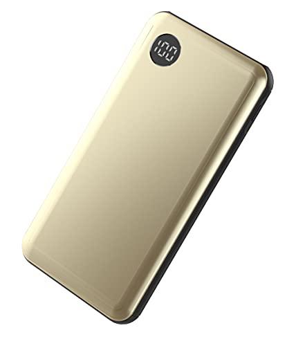PLATINET Power Bank 10000 mAh 18 W 2 x USB 5 V 2.4 A QC 3.0 PD Gold