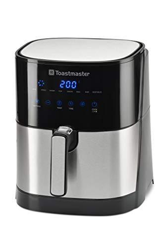Toastmaster TM-500AF Air Fryer, 5 quart, Black