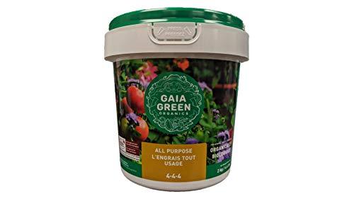 Gaia Green Organic 4-4-4 All Purpose Fertilizer 2kg