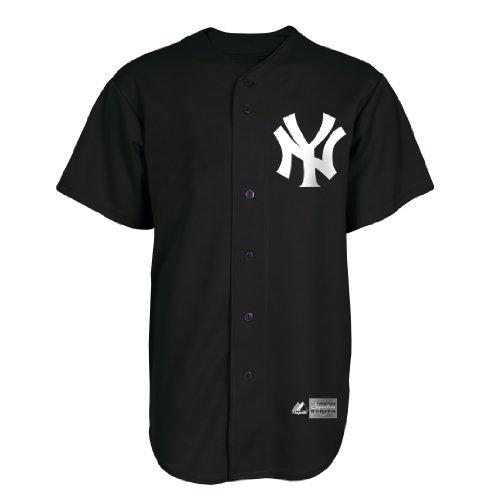 Majestic MLB New York Yankees Herren Trikot Alex Rodriguez Signature Series, Herren, schwarz
