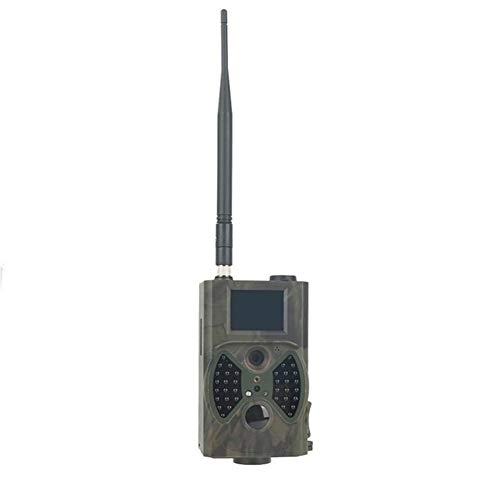 Wildkamera HC300M Jagd Camera12MP 940nm Nachtsicht Infrarot-MMS Jagd-Hinterkamera MMS GSM GPRS 2G-Trap-Spiel Kamera-Fernsteuerung (Color : 300M, Ships from : China)