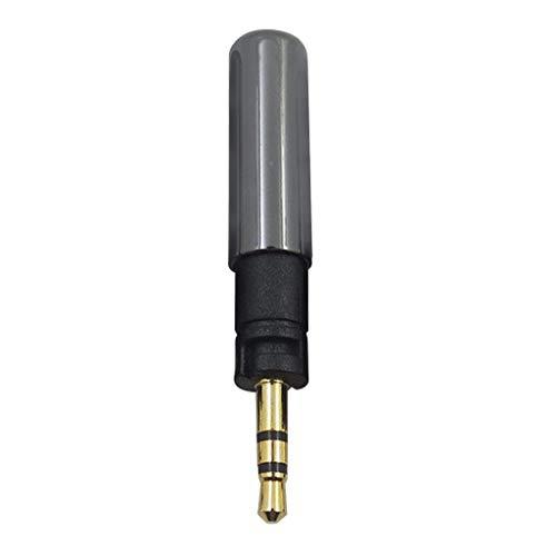 MYBOON Adaptador de Clavija de Enchufe para Auriculares Jack de 2,5 mm para HD 598 / HD518 / K450