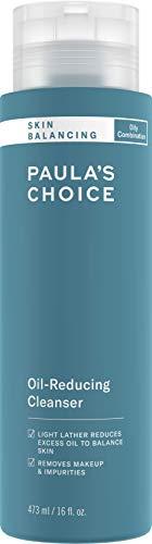 Paula's Choice Skin Balancing Nettoyant Visage - Démaquillant Moussant Élimine les Points Noirs, Imperfections et le Sébum - avec Aloé Vera - Pour Peaux Mixtes à Grasses (473 ml)