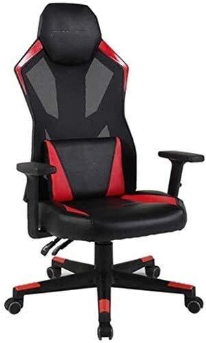 Sillones GSN Silla de E-Sports ChairComputer Silla ergonómica Silla giratoria for el hogar Ascensor Ajustable Reposabrazos Negro