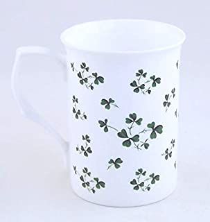 Irish Shamrock Chintz - Fine English Bone China Mug - England