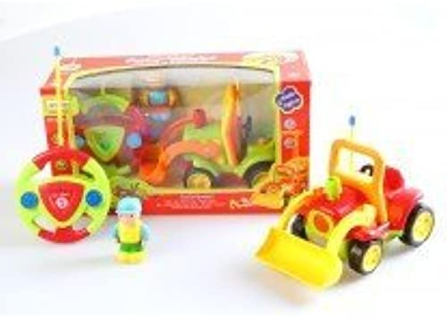 Az Import & Trading MC06G Cartoon RC Construction Truck for Toddlers Grün, 4 in. by AZ Import