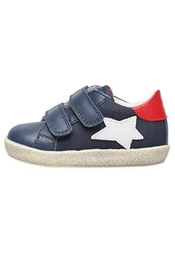 Falcotto ASPASIA VL-Sneaker con Stella-Blu Blu 23