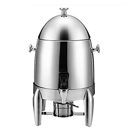 MNSSRN Dispensador de Bebidas Calientes de Acero Inoxidable 12L, dispensador de dispensadores de Agua aislada con Titular de Combustible de Grifo sin Fugas, Catering, Buffet o hogar