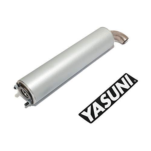 –Silenciador Trasero Yasuni Scooter Aluminio