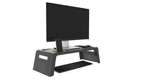 Suporte para Monitor e Notebook Prime Preto Maxcril, PRETA