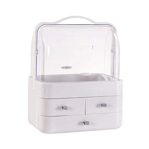 XYZMDJ Box-Maquillaje del Organizador del almacenaje, a Prueba de Polvo Impermeable diseño...