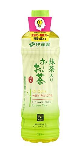 [旧品番] [機能性表示食品] 伊藤園 抹茶入り おーいお茶 緑茶 525ml ×24本 ルーズリーフ