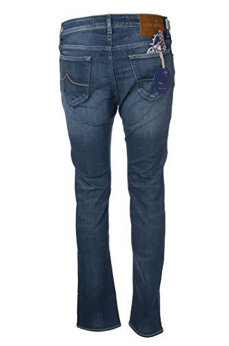 Jacob Cohen Jeans 5 Taschen Hosenbeine Slim Fit J68801371W2-JeansGerade TelaStrech-002Hellblau, Slim Fit, Blau 26