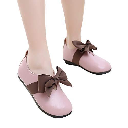 serliy Kinder Kid Baby Mädchen Bowknot Student Single Soft Dance Prinzessin Schuhe