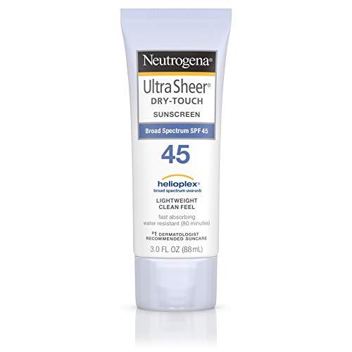 Neutrogena Ultra Sheer Sunblock SPF 45 - 3.0 oz. (Sonnenschutzmittel)