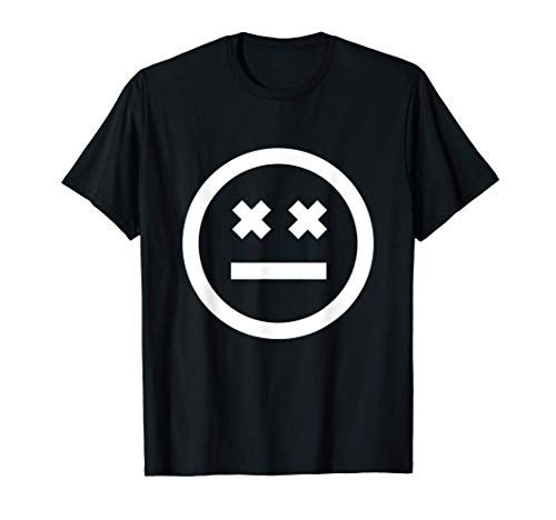 Cool Wild Smiley Novelty Graphic T-Shirts & Cool Designs Camiseta