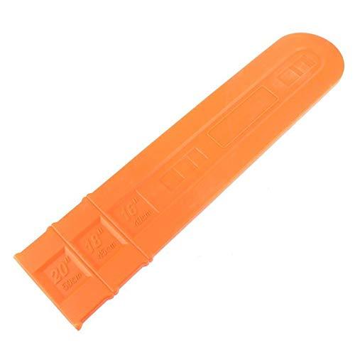 Guía protectora de la cubierta protectora de la barra de la barra de la barra de 12/16 / 20/24 en la guía protectora de Scabbard 449C (Color : Black 20 inches)
