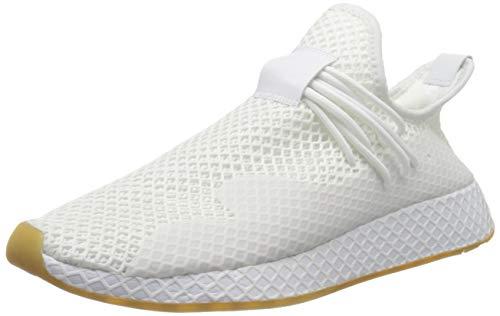 adidas Deerupt S, Zapatillas Hombre, FTWR White/FTWR White/Gum 3, 44 2/3 EU