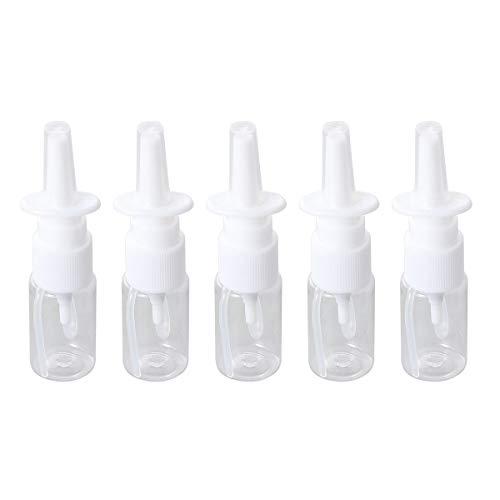Nasen Sprühflasche Nachfüllbar Leere Nase Spülen Flasche Kunststoff Tragbare 10ml 5 STK