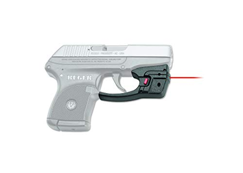 Crimson Trace DS-122 Defender Series Accu-Guard Red Laser Sight for Ruger LCP Pistols, Defensive Shooting and Competition