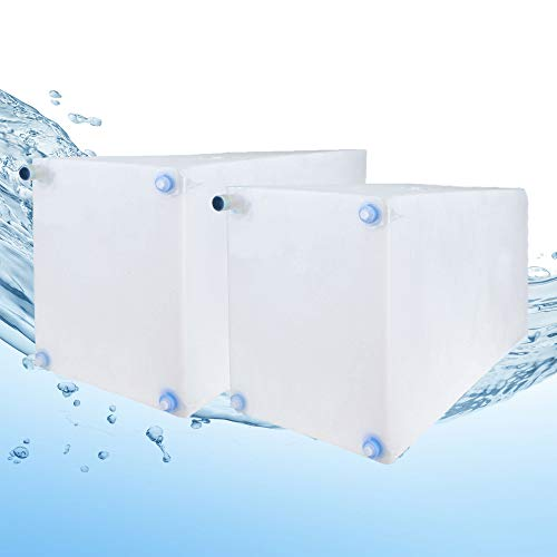 Fresh and Gray Water Holding Tank | Combo Pack | RV Water Holding Tanks | Camper Holding Tanks (30 Gallon & 42 Gallon) BPA Free