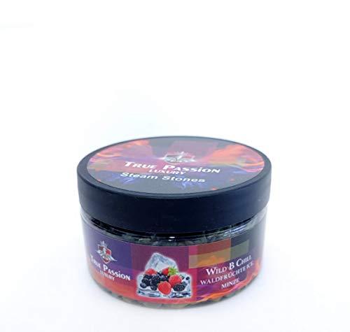 True Passion Shisha Dampfsteine 120g - Wild B Chill | Tabakersatz für Wasserpfeife