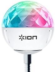 ION Audio Party Ball USB LEDライト ミラーボール 音声で光が変化
