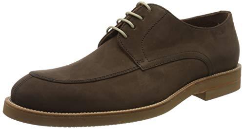 Lottusse T2466, Zapatos de Cordones Derby Hombre, Marrón (Heaven Moka Heaven Moka),...