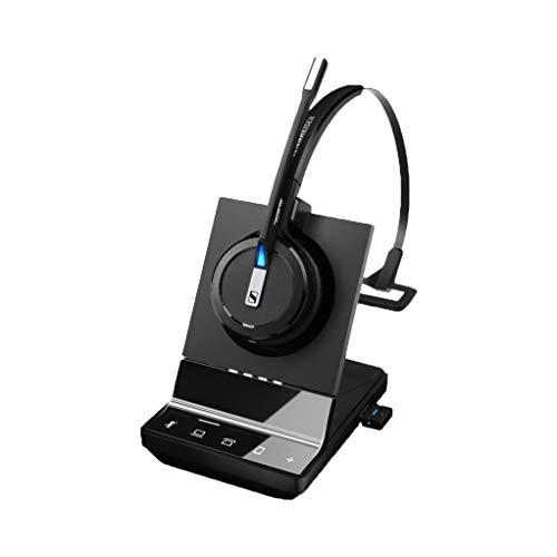 Sennheiser SDW 5016 in-Ear-Kopfhörer, Ohrhörer, Kopfhörer, Minerve, Schwarz – Kopfhörer (Medias/Kommunikation, 1.0 Kanäle, Monophone, Ohrhaken, Bandeau, Minerve, Schwarz, Kabellos)
