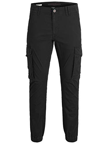JACK & JONES Herren Cargohose Paul Flake AKM 542 2930Black