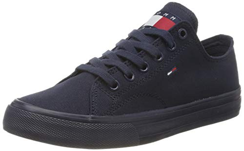 Tommy Jeans Womens Virginia 4D Sneaker, Twilight Navy, 39 EU