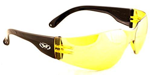 Global Vision Infrangibile UV400Low Light/Inverno Avvolgente Shooting/Caccia Occhiali/Occhiali da Sole con Custodia in Microfibra Gratuita