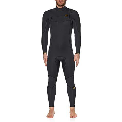 BILLABONG Mens Furnace Absolute 4/3mm Chest Zip Wetsuit - Antique Black - thermische warme Wärme legere Furnace Futter