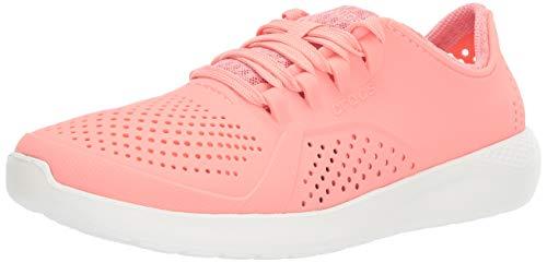 crocs Literide Pacer - Zapatillas Deportivas para Mujer, Color Negro, Color Rosa,...