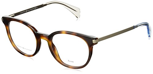 Tommy Hilfiger Damen TH 1380 QEB 48 Sonnenbrille, Gold (Havana Gold)