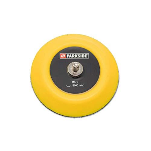 Plato de pulido con soporte de velcro de repuesto para almohadillas de pulido aptas para la pulidora Parkside LIDL PAAP 12 B2 LIDL IAN 341740 y IAN 338173