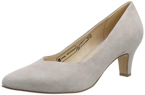 bugatti Damen 411685743400 Pumps, Grau (Light Grey 1200), 38 EU