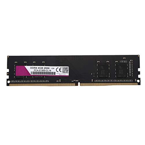 Dasorende DDR4 1.2V PC RAM Memoria DIMM 288 Pines RAM para Computadora de Escritorio Ram (4G / 2666Mhz)