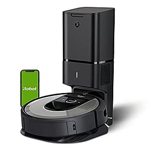 iRobot Roomba i7556 Aspirateur Robot connecté avec système d'autovidage et aspiration surpuissante - brosses en caoutchouc multisurfaces - idéal pour les poils d'animaux (B07V9LD1HZ)   Amazon price tracker / tracking, Amazon price history charts, Amazon price watches, Amazon price drop alerts