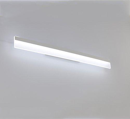 Solarl Kastlicht met spiegel, badkamerspiegel, led-make-uplamp, moderne spiegelkast, verlichting, wandlamp, waterdicht, mistlamp, spiegellamp, energie-efficiëntieklasse