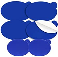 Engo Everyone can use This Product ENGO Oval Blister Patches (6 Patches) | Fits in All Types of Footwear six-commingle, Blue