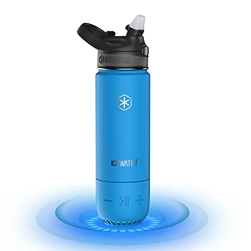 ICEWATER 3-in-1 Smart Insulated Water Bottle(Glows to Remind You to Stay...