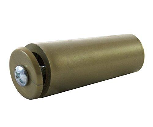 SYSFIX 2320223 – aanslagstop voor rolluiken TP 55 in doos 12 stuks met schroef en sluitring, bronskleurig