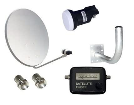Kit Antena Parabólica GI 60 cm + LNB + Soporte + Localizador