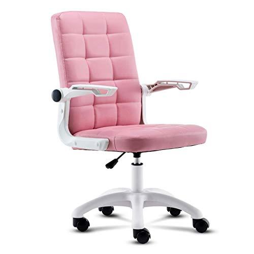 Yushesen Bürostuhl Computerstuhl Computertisch Stuhl Heimbürostuhl Spiel Computer Stuhl Aufzug Verstellbarer Drehstuhl PU-Leder Bürostuhl...