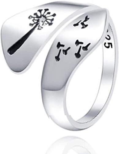 Ysang Nature Art Ring, Legierung, verstellbar, Galvanik, offener Ring, Fingerring für Frauen, Einheitsgröße, Mädchen