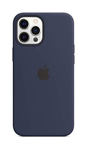 Apple SilikonHülle mit MagSafe (für iPhone 12 Pro Max) - Dunkelmarine - 6.7 Zoll