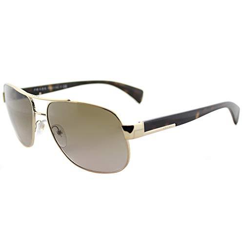 Prada Herren PR52PS Sonnenbrille, Gold (Pale Gold ZVN1X1), One size (Herstellergröße: 61)