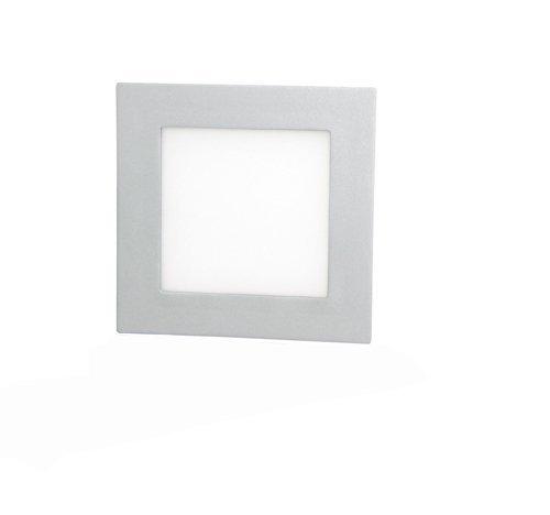 Faretto led 18 w 205 x 205 mm luce bianca risparmio energetico MWS
